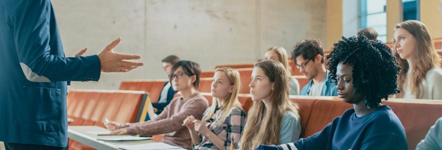 Études supérieures à Marseille